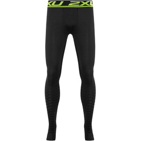 2XU Power Recharge Recovery Lange hardloopbroek Heren Regular zwart